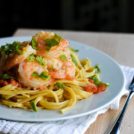 TROPICAL SHRIMP LINGUINE