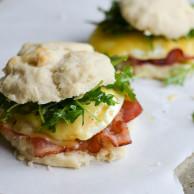 ARUGULA & BACON BREAKFAST SANDWICHES from Rachel Schultz-2