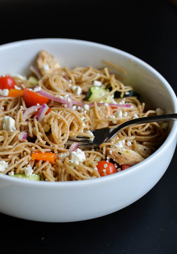 GREEK PASTA SALAD from Rachel Schultz-2
