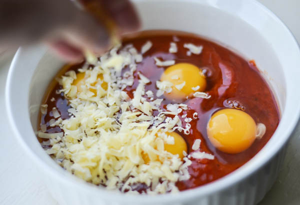 ITALIAN BAKED EGGS from Rachel Schultz