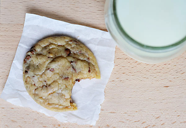 VERY SOFT TOFFEE CHIP COOKIES
