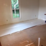 THE ANCHOR ROW & LAYING UNDERLAYMENT