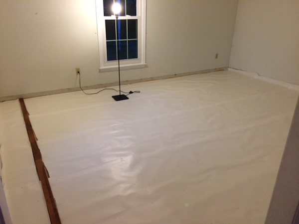 LAYING UNDERLAYMENT & THE ANCHOR ROW from Rachel Schultz 3