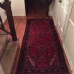 VINTAGE PERSIAN RUNNER FOR THE ENTRYWAY