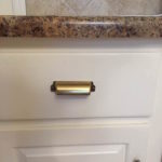 BLACK VS. BRASS KITCHEN CABINET HARDWARE