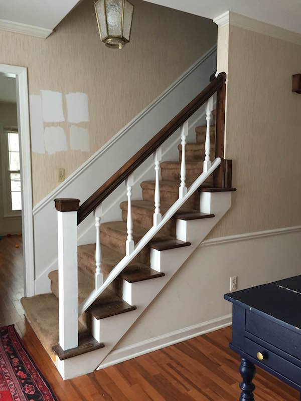 Painting Handrail White
