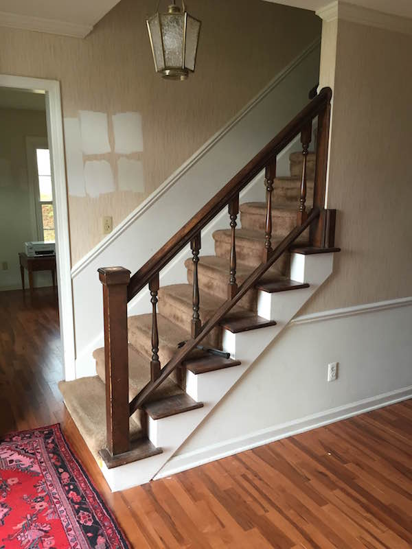 REMOVING THE STAIR FINIAL From Rachel Schultz
