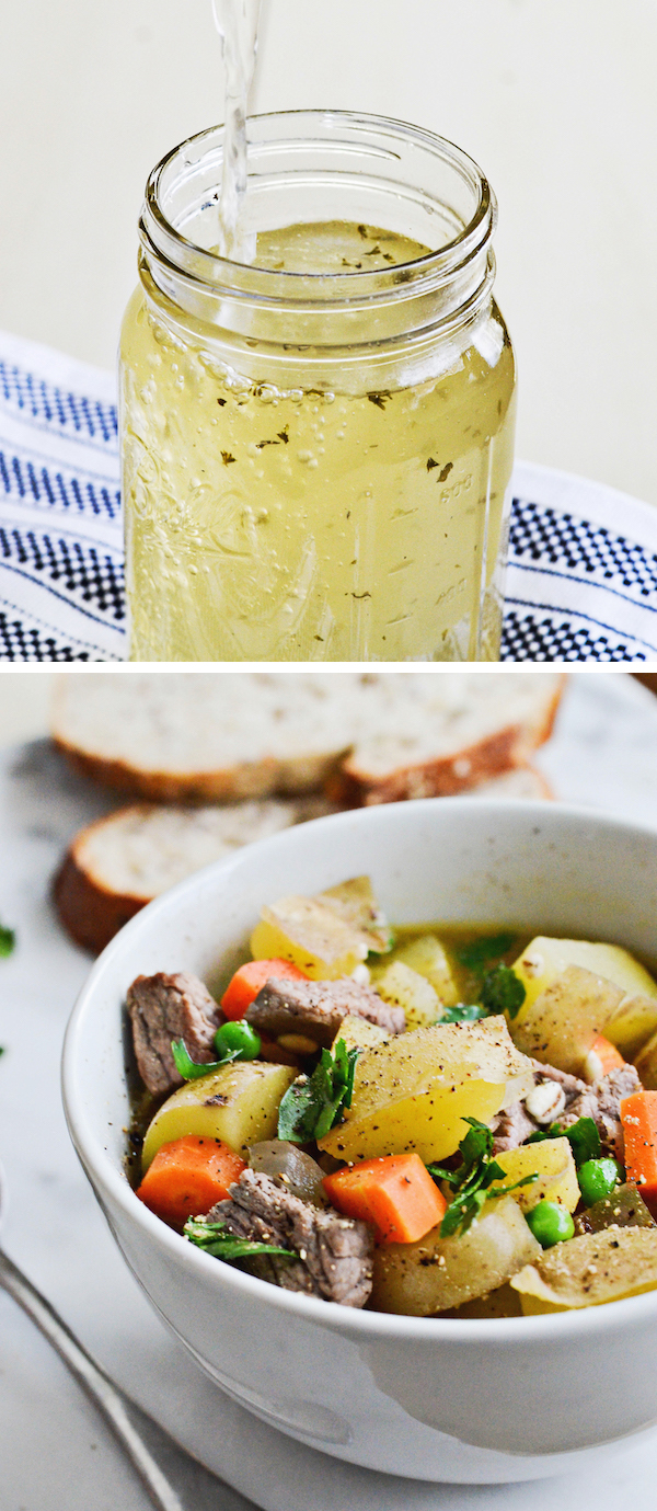 HOMEMADE VEGETABLE BROTH from Rachel Schultz