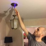 REPLACING THE ENTRYWAY LIGHT