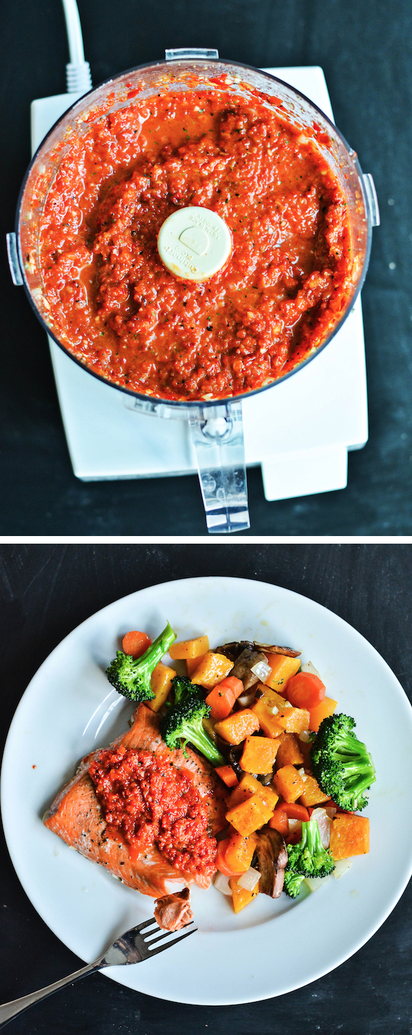 ROASTED RED PEPPER SAUCE from Rachel Schultz