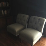 SLIPPER CHAIRS FOR THE LIVING ROOM