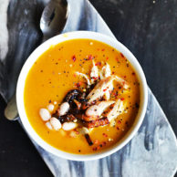 BUTTERNUT SQUASH BISQUE from Rachel Schultz