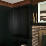 PAINTING THE LIVING ROOM BLACK