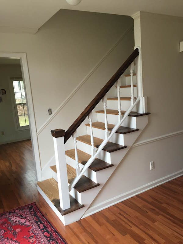 REFURBISHING THE STAIRS PART 1 from Rachel Schultz 4