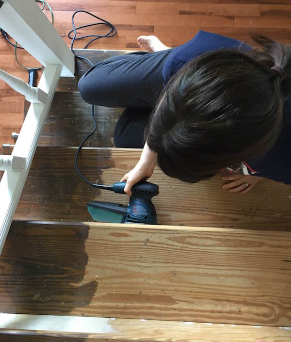 REFURBISHING THE STAIRS PART I from Rachel Schultz 2