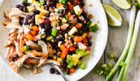 MANGO & CHICKEN BLACK BEAN SALAD