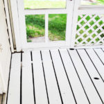 REFINISHING A SUNROOM FLOOR