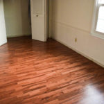 FINISHED WOOD FLOORS IN THE MASTER BEDROOM