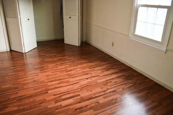 Finished Wood Floors In The Master Bedroom 3