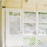 MODIFYING THE SUNROOM DOORS