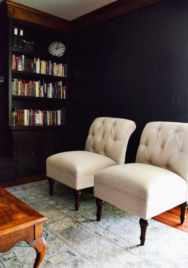 BLUE-GREIGE RUG FOR THE LIVING ROOM – Rachel Schultz