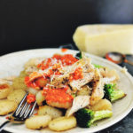 CHICKEN GNOCCHI WITH BROCCOLI