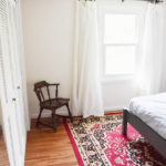 FINISHED WOOD FLOORS IN THE GUEST ROOM