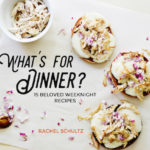 """THE NEW (FREE!) EBOOK: """"WHAT'S FOR DINNER?"""""""