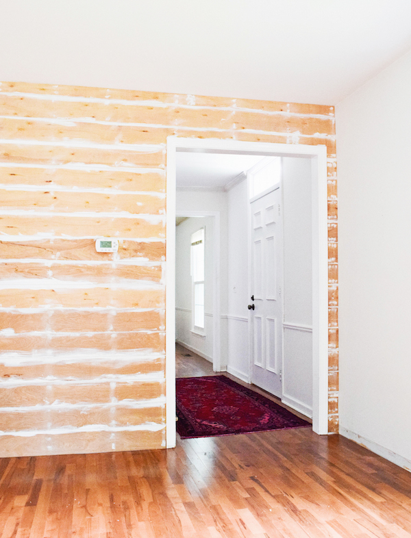 How To Shiplap Inexpensively