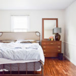A NEW MASTER BED FRAME & HEADBOARD