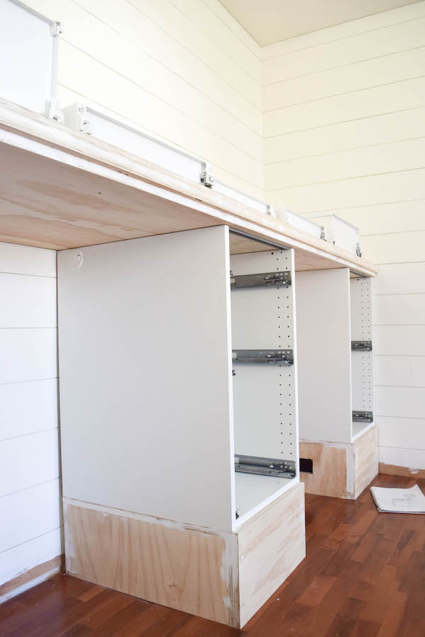 Rachel Schultz: MAKING IKEA CABINETS INTO A BUILT IN ...
