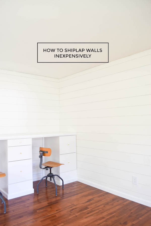 HOW TO SHIPLAP INEXPENSIVELY copy 2