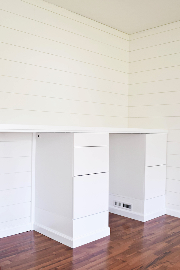 MAKING IKEA CABINETS INTO A BUILT IN STANDING DESK-2 copy