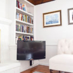 Hiding the TV Mount Inside a Cabinet