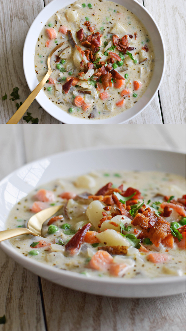 ONE POT CREAMY POTATO SOUP