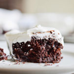VERY MOIST CHOCOLATE CAKE (FROM A BOX MIX!)