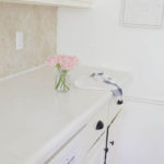 COVERING LAMINATE COUNTERS WITH WHITE CONCRETE