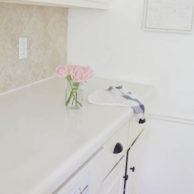 COVERING LAMINATE COUNTERS WITH WHITE CONCRETE-2