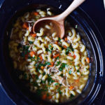BEST SLOW COOKER CHICKEN NOODLE SOUP
