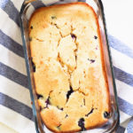 BLUEBERRY LEMON POUND CAKE LOAF