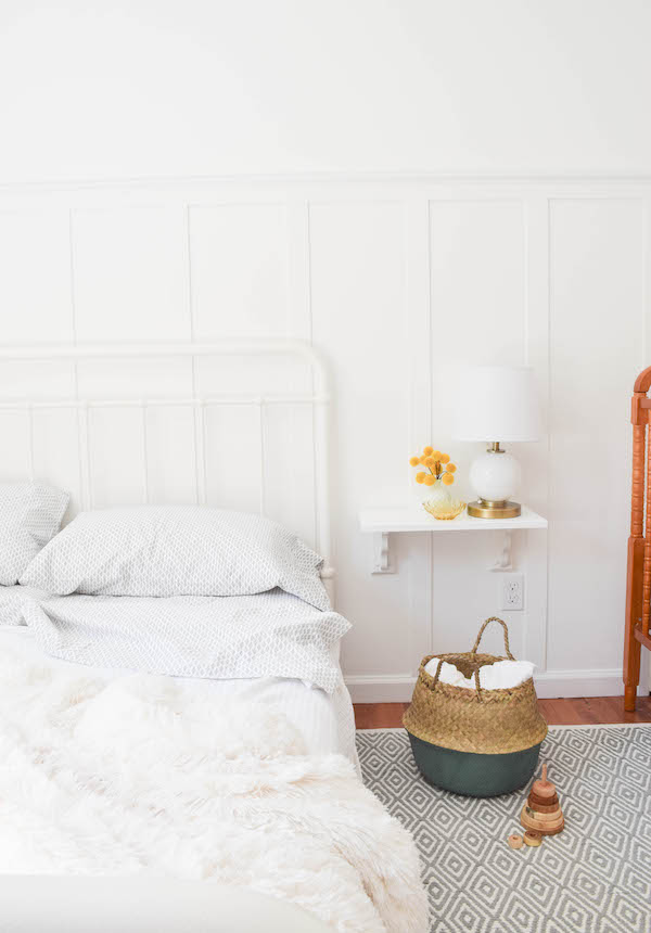 A NEUTRAL, SOPHISTICATED SHARED GUEST BEDROOM AND NURSERY-4