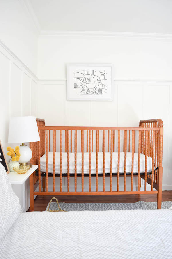 A NEUTRAL, SOPHISTICATED SHARED GUEST BEDROOM AND NURSERY-5