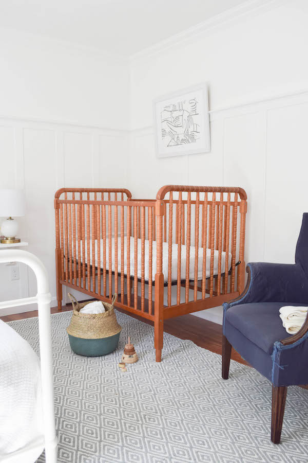 A NEUTRAL, SOPHISTICATED SHARED GUEST BEDROOM AND NURSERY-8