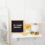 $30 WALL MOUNTED NIGHTSTAND