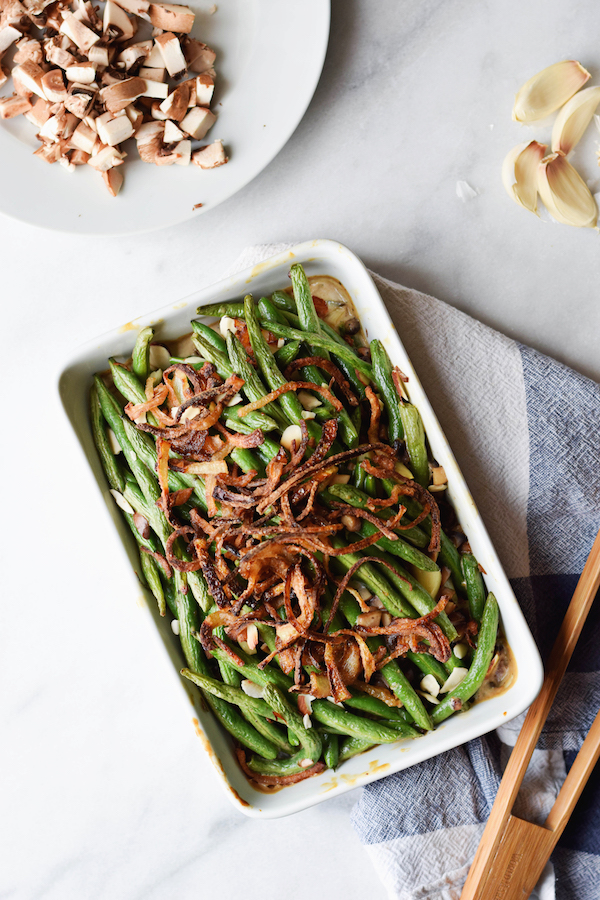 A NOT GROSS GREEN BEAN CASSEROLE