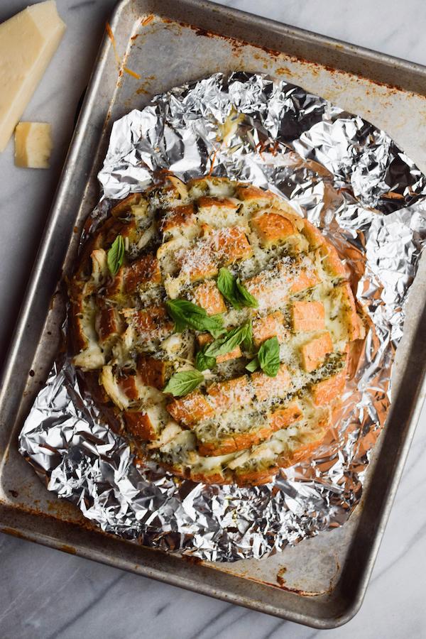 CHICKEN PESTO PIZZA BREAD-2 copy