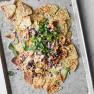Slow Cooker Chicken Nachos with Jalapeño Peppers