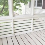 ADDING PANELING TO A SCREENED IN PORCH