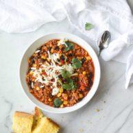 One Pot Quinoa Turkey Chili