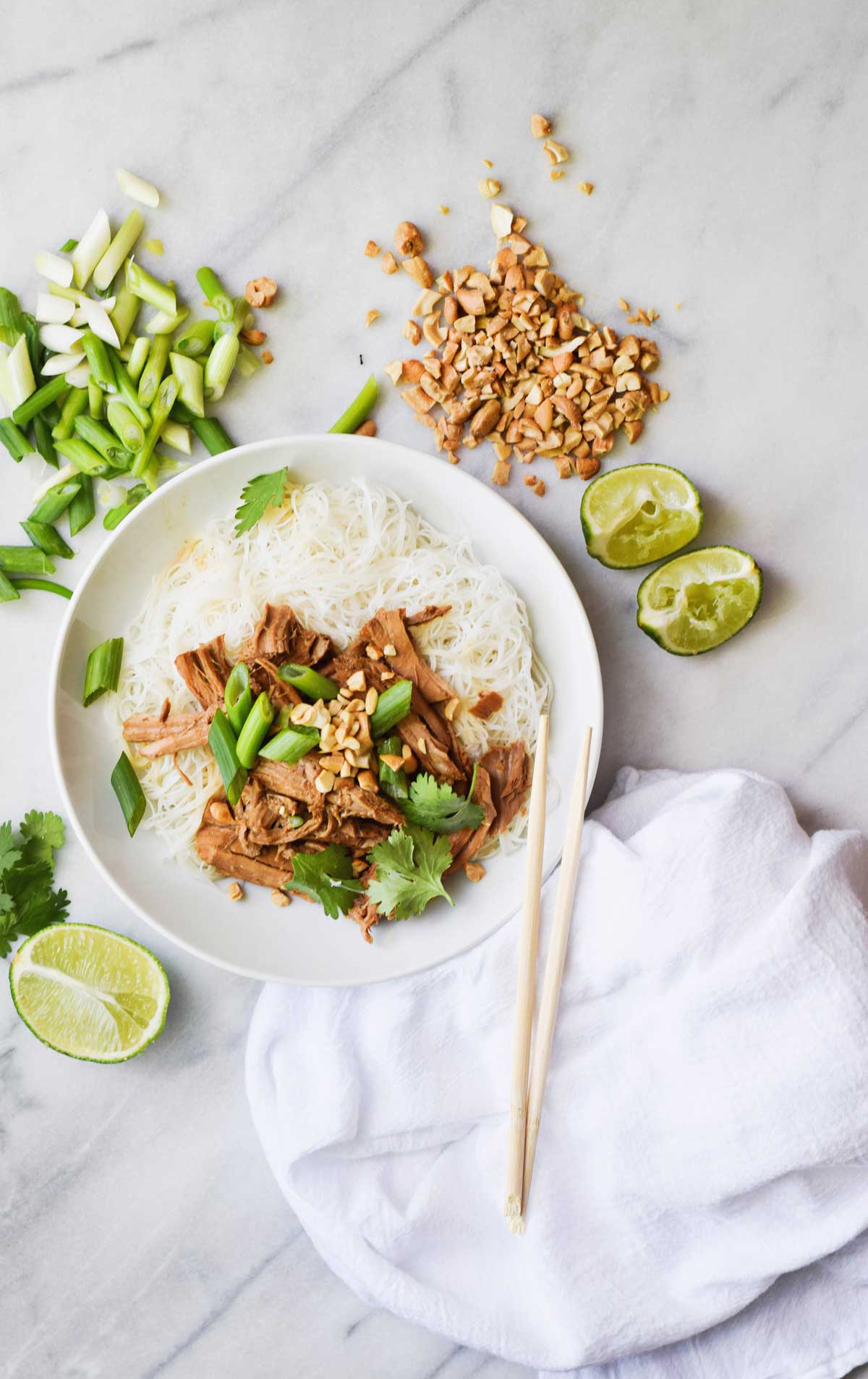 Slow Cooker Garlic Pork Stir Fry